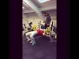 Как НЕ НАДО страховать на тренировке)))