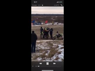 Уникальные кадры с гонки Красные Крылья 14.01.18 Гонка была настолько жаркой что...👊👊👊 В главной роли Джованни vs Латышев