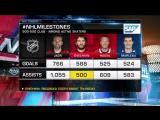 #NHLMilestones: Alex Ovechkin Jan 25, 2018