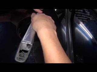Как снять ручку на авто