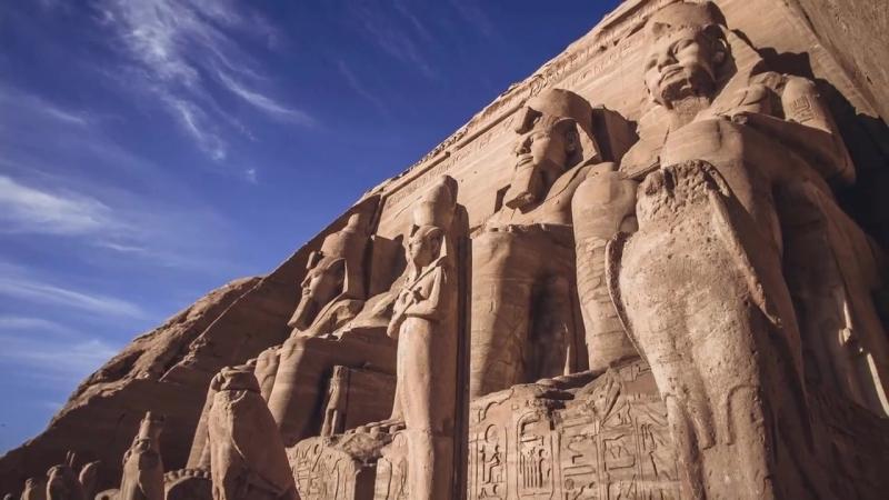 Храмовый комплекс Абу-Симбел, Египет ⁄ The temple complex of Abu Simbel, Egypt