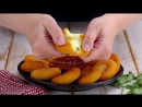 """Картофельные медальоны """"Четыре Сыра"""" с оригинальным соусом. Вкуснятина!"""