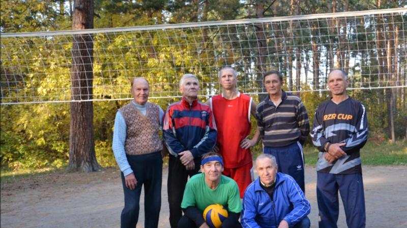 Парковый волейбол. Часть 4. 27 сентября 2014г. Ветеранам паркового волейбола посвящается!