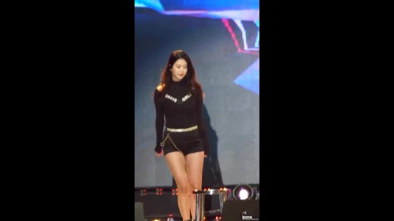 170427 Brave Girls - Rollin' (Hayun) @ Yeongwol Endangered Cultural Festival