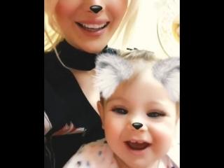Моя маленькая куколка ❤️❤️❤️ моя улыбашка😍😍😍