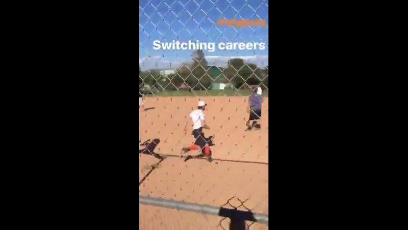 Softball with dylan o'brien ian bohen