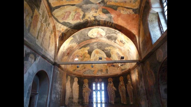 2013 Turquie Istanbul, L église Saint Sauveur in Chora, Kariye Müzesi, Trés Belles Mosaïques