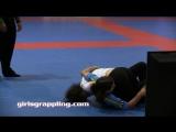 IBJJF Blue Belt Girls Grappling No-Gi 09.29.17 NYC Women Wrestling BJJ MMA Female Match