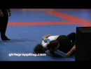 IBJJF Blue Belt Girls Grappling No-Gi 09.29.17 NYC Women Wrestling BJJ MMA Female Match
