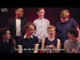 """[RUS SUB] The Cast of """"It"""" Rates Everyday Scary Things ¦ Teen Vogue"""