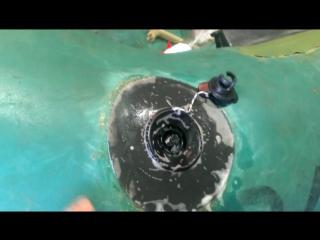 Замена клапана (лодка нырок)
