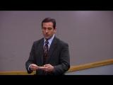 Офис [The Office] / 3 сезон - 16 серия / «Школа бизнеса» [Business School]