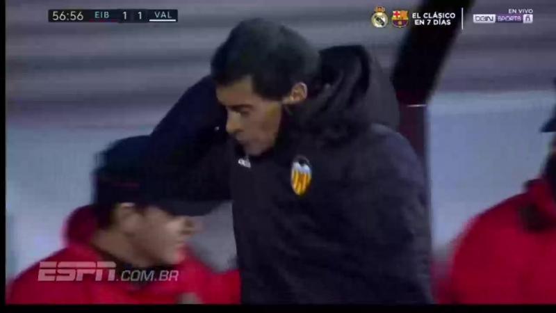 Эибар 2–1 Валенсия. Обзор матча (Футбол. Чемпионат Испании) 16 декабря