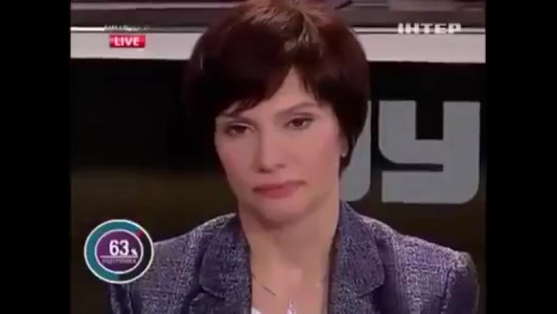 Крик души одной женщины на ТВ - так нельзя дальше жить
