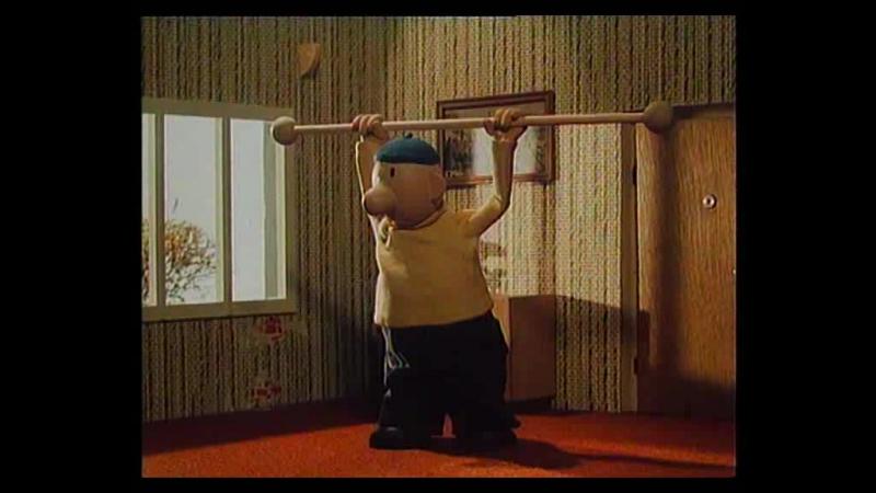 Пат и Мат (1983) [17] – Тренажерный зал