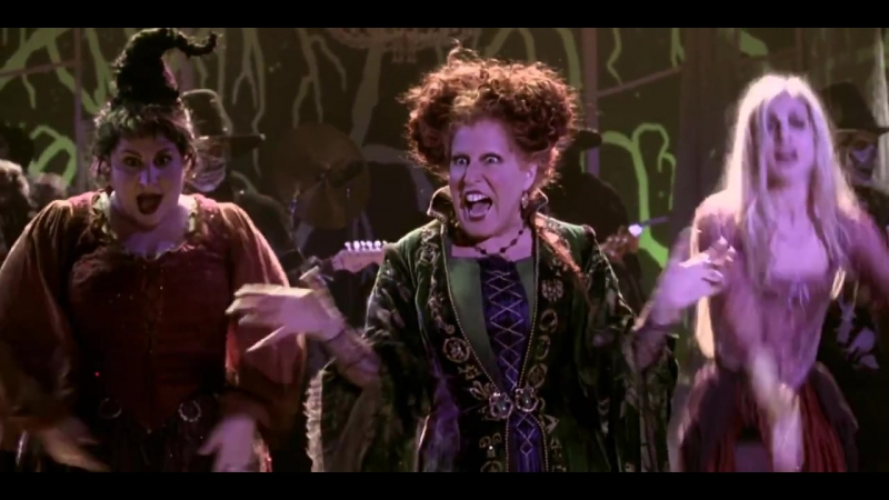 Hocus Pocus Bette Midler Put A Spell On You HD