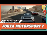 Forza Motorsport 7 Gameplay on Xbox One X  E3 2017 Microsoft Press Conference