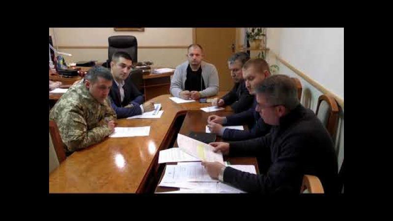 Брифінг міського голови м.Конотоп А.Семеніхіна стосовно призиву до лав ВСУ