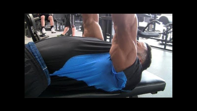 Close Grip Triceps Press