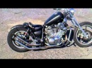 Virago xv 1100 bobber custom bike