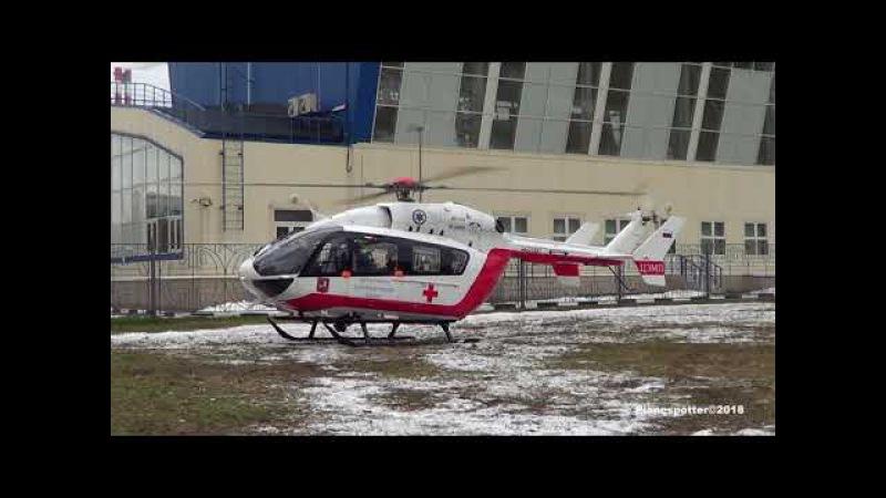Airbus Helicopters EC145 RA-01887 ЦЭМП Южное Бутово. Бартеневская, 17 01.01.2018