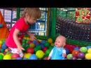Baby Born Doll Кукла Беби Борн и Арина на Детской Площадке Прыгаем на батуте Потеряли ...