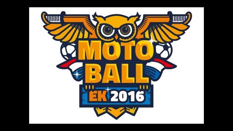 EK Motoball 2016 finale wedstrijd : Rusland - Duitsland