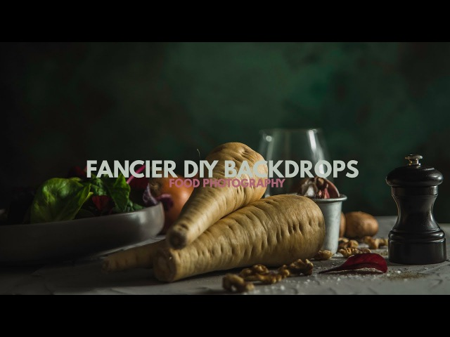 More DIY Backdrops for Food Photography