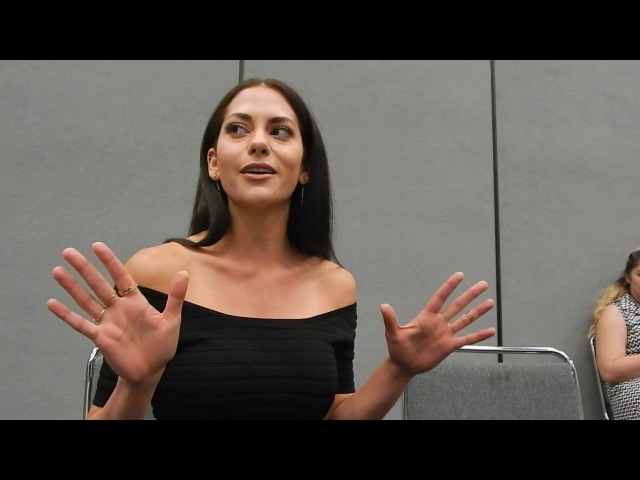 Inbar Lavi (Sheba) talks Prison Break at Wondercon '17