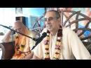 Niranjana Swami Addressing the festival team at Bhakti sangama Ukraine 7 Sep