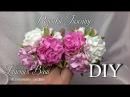 МК Розочка Tuscany Простые цветочки для скрап работ