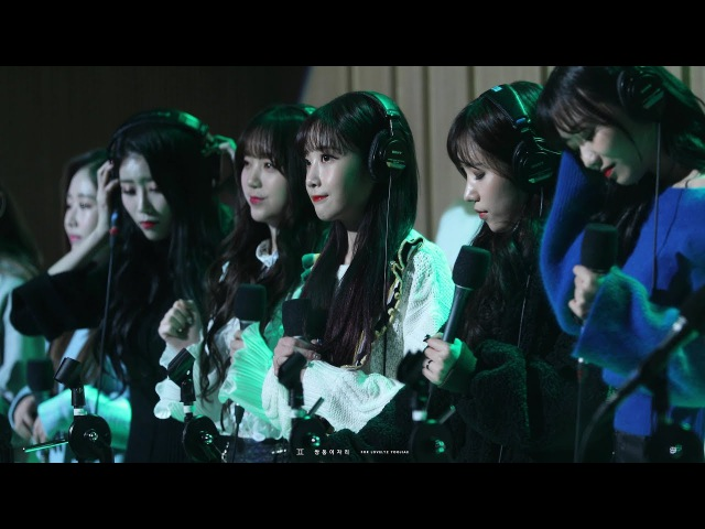 [4K] 171116 SBS 두시탈출 컬투쇼 '종소리' 러블리즈 유지애 직캠 by 쌍둥이자리