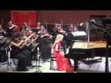 Д.Шостакович Концертино для 2-х фортепиано a-moll - солистка Софья Меньшикова