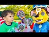 Щенячий патруль СПИНЕР ГИПНОЗ Игры с Спиннер Bad Kids FIDGET SPINNET Magic Hypnotize Family fun toys