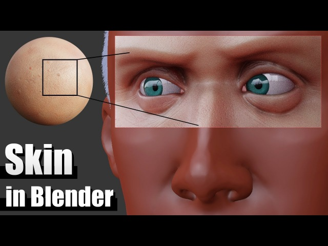 Realistic Skin In Blender - Texturing and Shader Tutorial