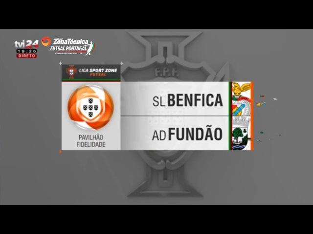 Liga SportZone | Jornada 20 | SL Benfica 6-3 AD Fundão