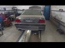Стреляющий огнем BMW 740 в кузове E38. Filitek Race Exhaust.