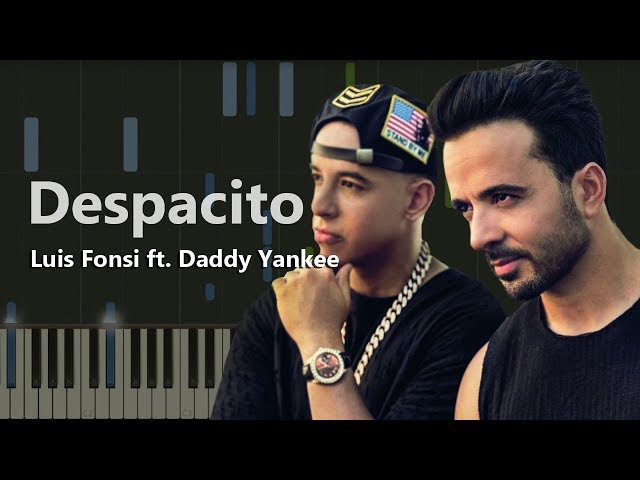 Luis Fonsi - Despacito ft. Daddy Yankee (пример игры на фортепиано) piano cover