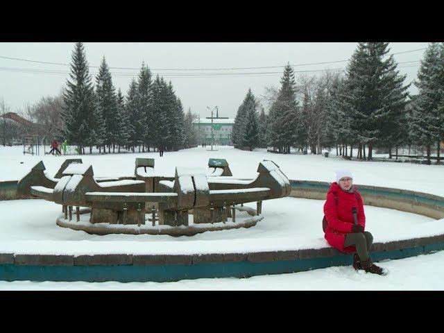 Я в Бийске - прогулка по Петровскому бульвару (Бийское телевидение)