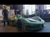 БЭТМОБИЛЬ СВОИМИ РУКАМИ - 1 серия (Self-made Batmobile) RV project
