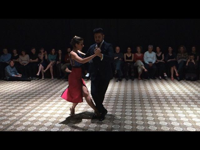 Tango: Nadia Johnson y Sebastian Jimenez, 17/03/2016, Patio de Tango 1/4