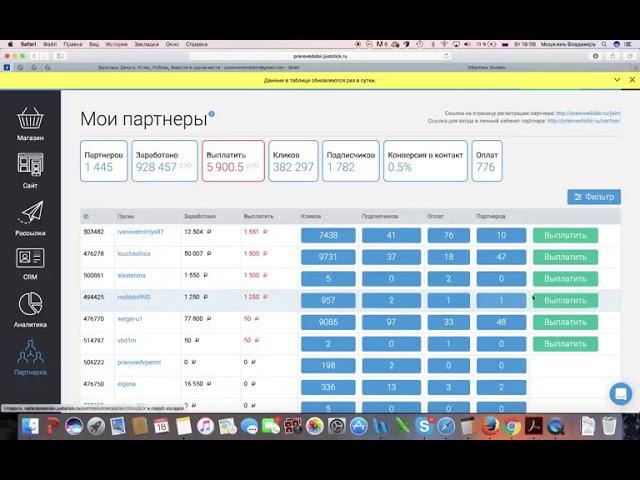 Партнёрская программа ПравоведъСибирь это честно, 50% от продаж! youtu.be/mGYWTtderRc