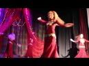 Концерт Школы арабского танца Жасмин Звезда востока г. Лысьва