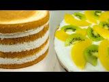 (https://vk.com/lakomkavk)   Крем сливочно-банановый с фруктами для торта - Я - ТОРТодел!