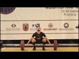 Men U17 85kg - 2017 EUROPEAN WEIGHTLIFTING CHAMPIONSHIPS  U15 & U17