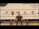 Men U17 85kg - 2017 EUROPEAN WEIGHTLIFTING CHAMPIONSHIPS U15 U17