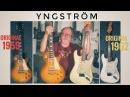 Legendary Blues Artist Clas Yngström Compares Original 1959 Les Paul to Original 1962 Stratocaster!