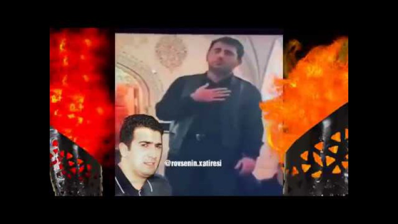 Rovsan Caniyev Lenkoranski Imam Huseyn Ashigi Boyuk Qardash sine vurur Allahin evinde