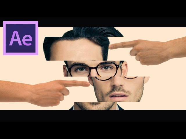 Puzzle Face Animation in After Effects - After Effects Tutorial - Easy Method
