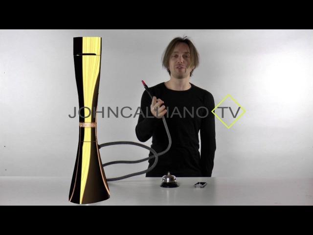 JohnCalliano.TV 101 Desvall - обзор кальяна за 100 000 евро!